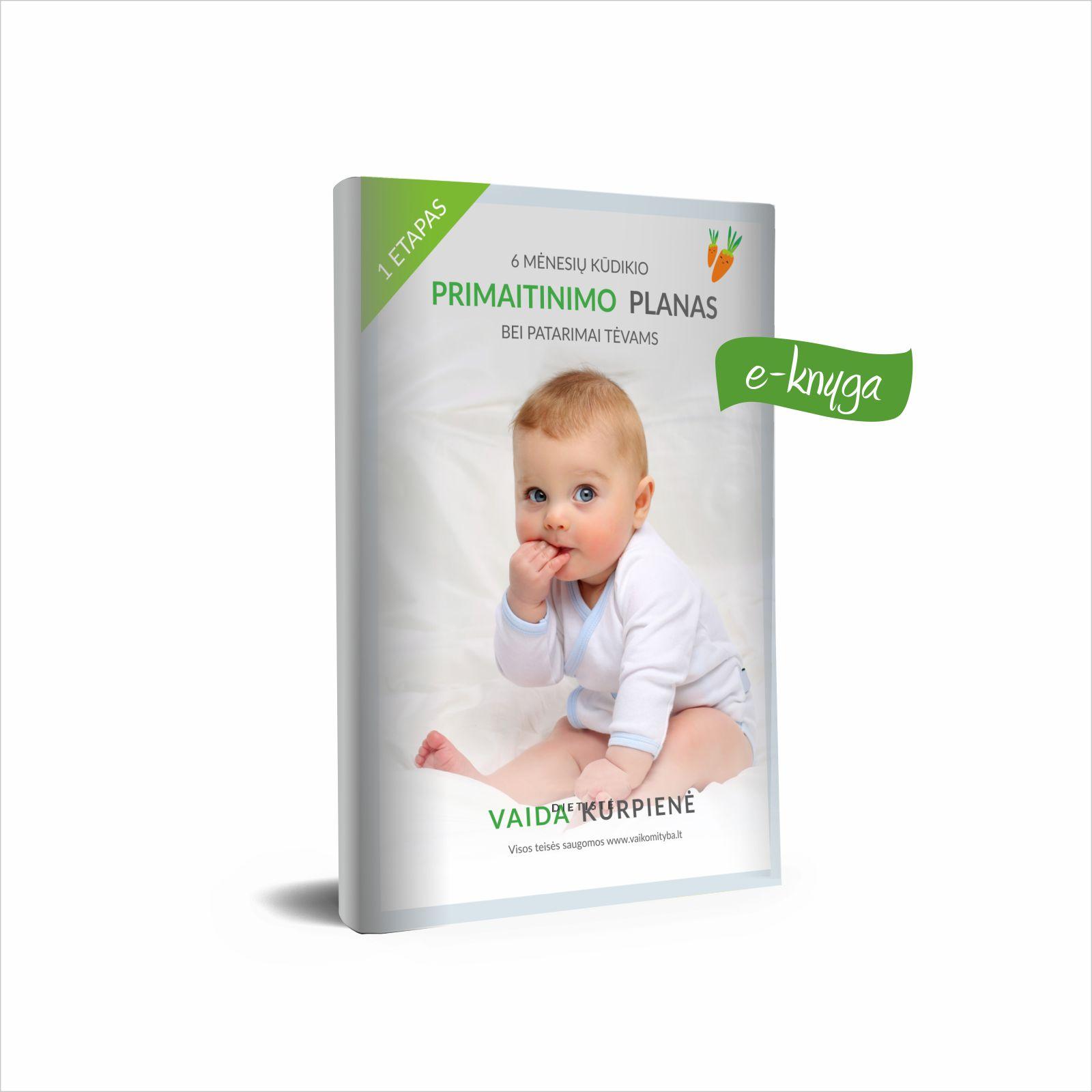 Kūdikio primaitinimo planas nuo 5 mėn. (e-knyga)