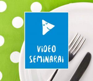 Video seminarai apie vaikų mitybą