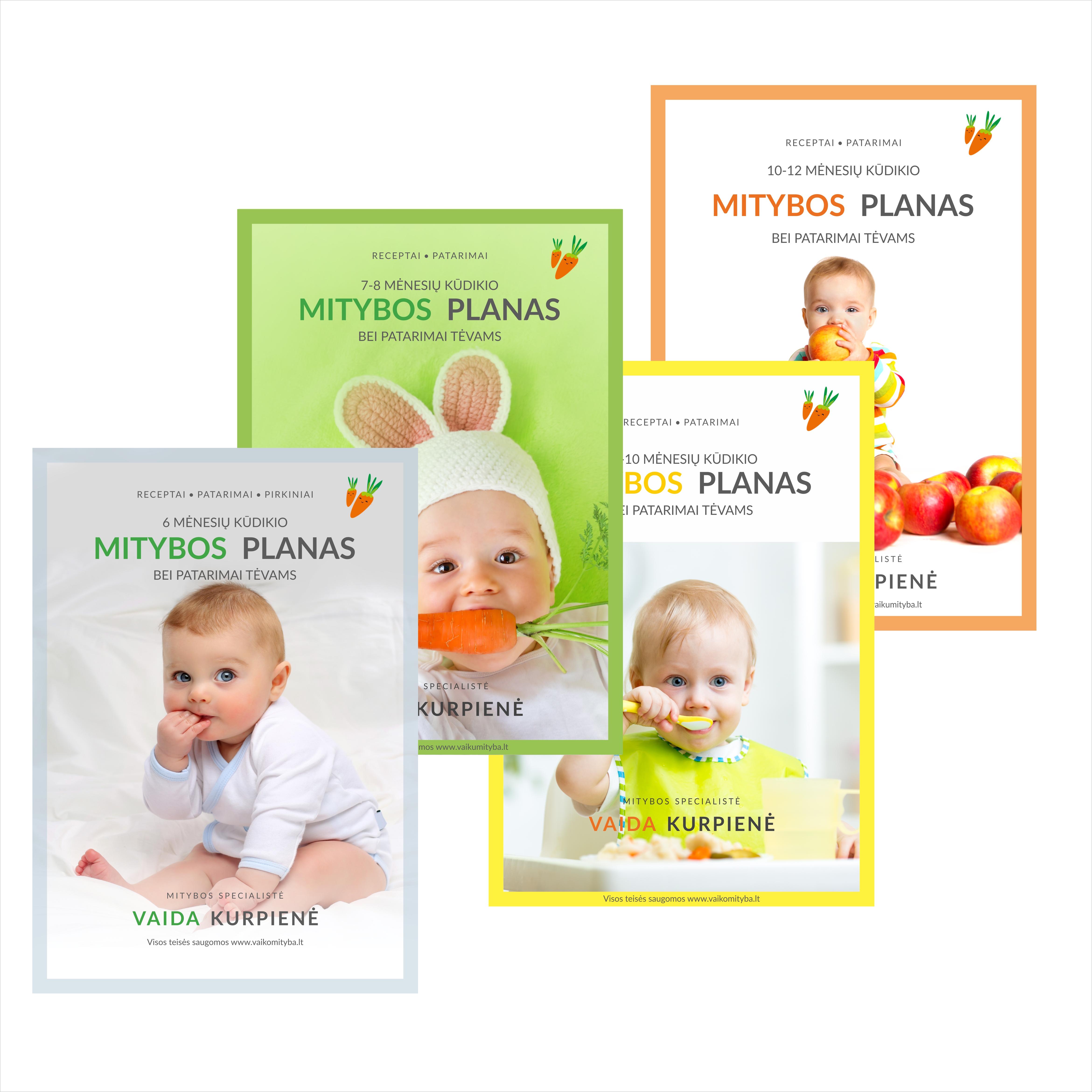 Kūdikio primaitinimo planas - keturi už trijų kainą