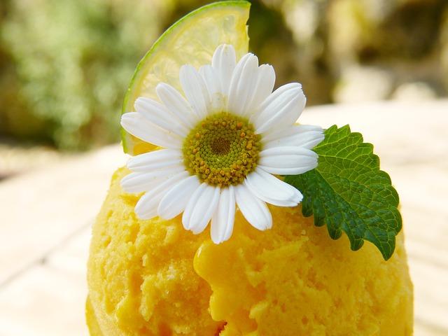 Mango ledai su kokosų pienu