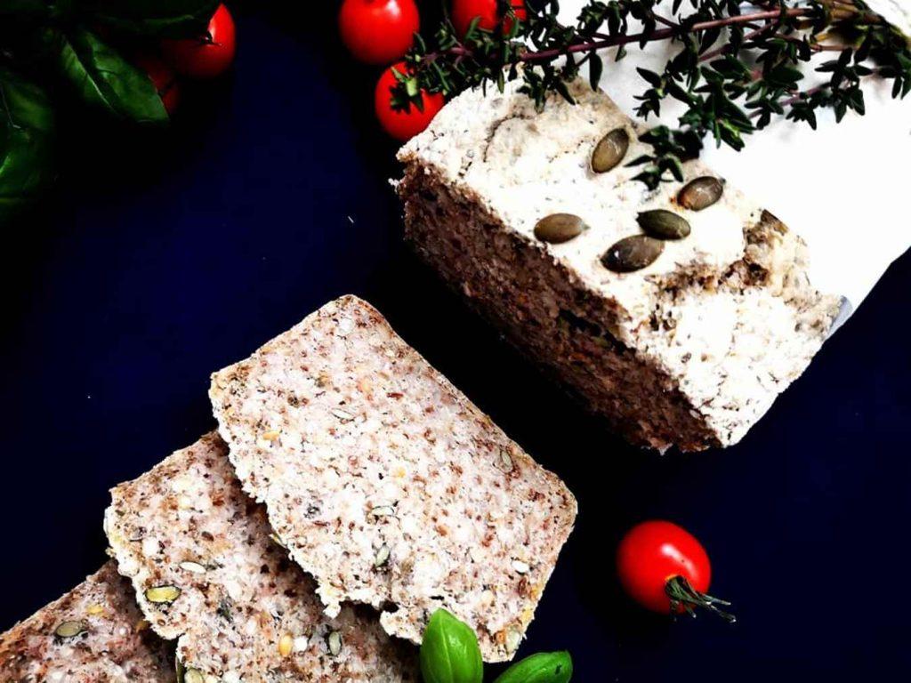 Grikių duona BE glitimo, pieno produktų, mielių, cukraus