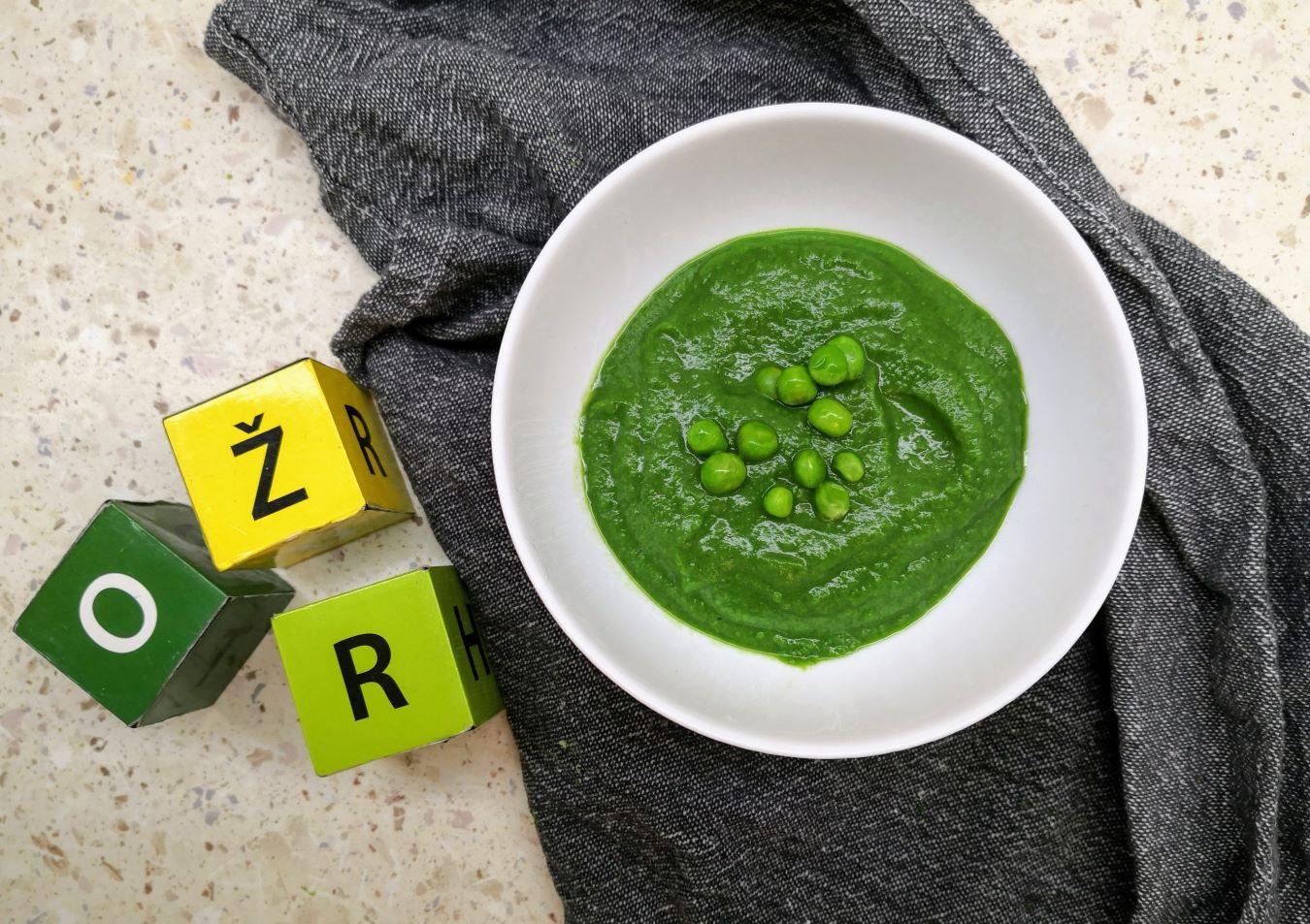 Žaliųjų žirnelių sriuba