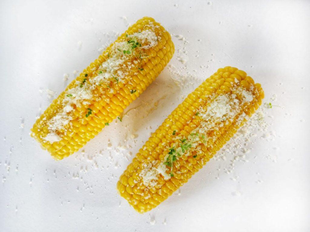 Virtos kukurūzų burbuolės
